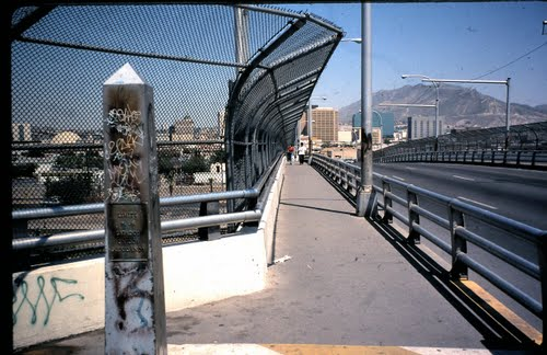 international border, Stanton St. Bridge, El Paso/Juarez