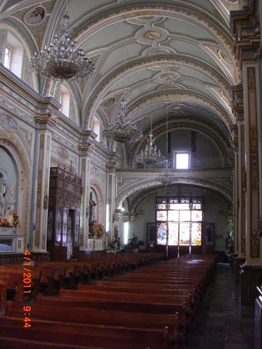 Interior Catedral Tehuacan
