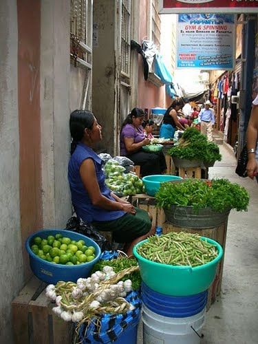 Marketday in Papantla, VER - Mèxico